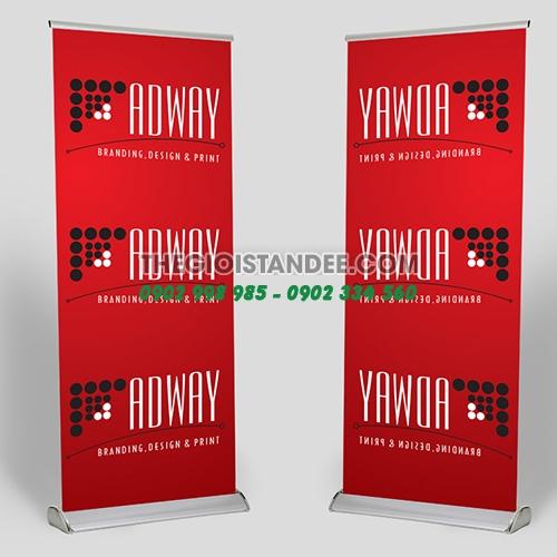 Standee Hào Hoa Nhựa 1 Mặt 80x200