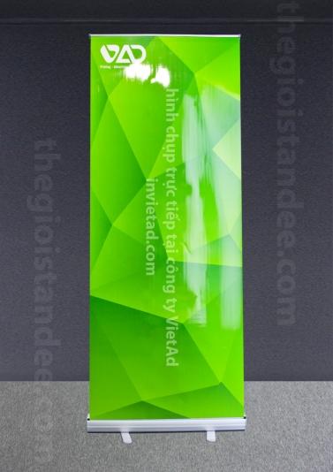 Standee Cuốn Nhôm Tốt 60x160